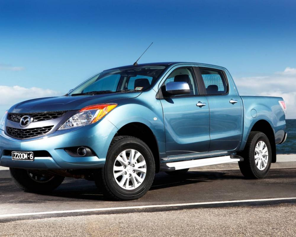Mazda BT-50 4x4 Review