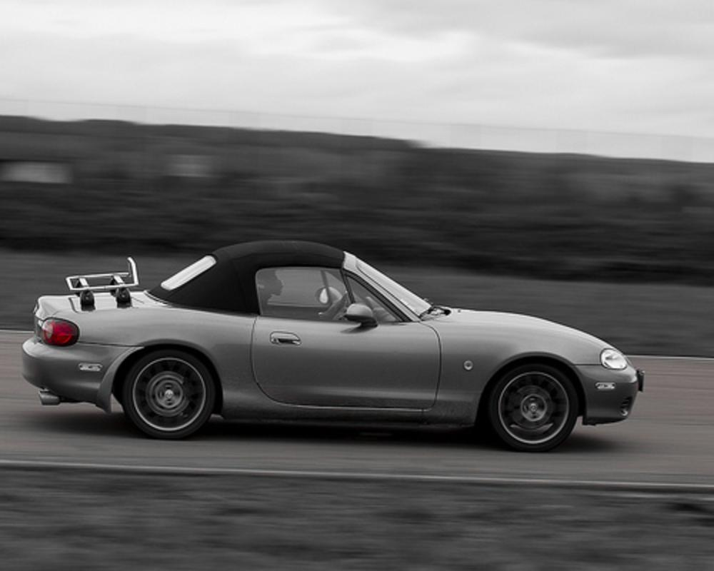 Miata flying by | Flickr - Photo Sharing!