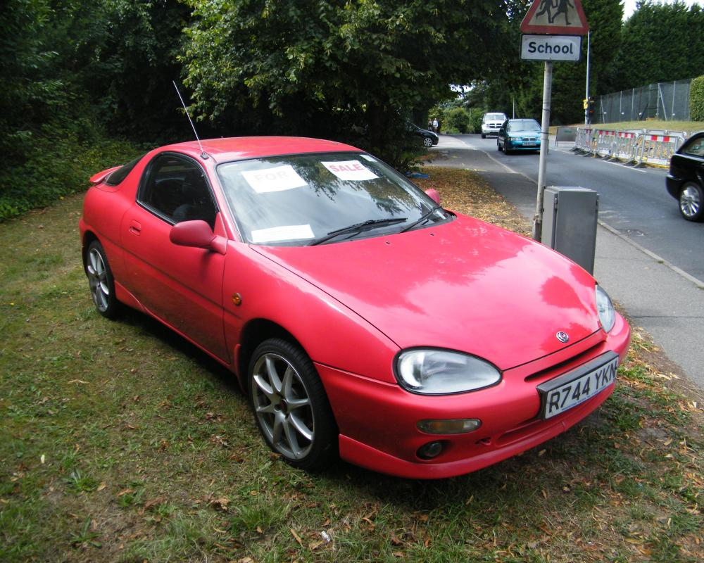 1997 Mazda MX-3 V6 (1) | Flickr - Photo Sharing!
