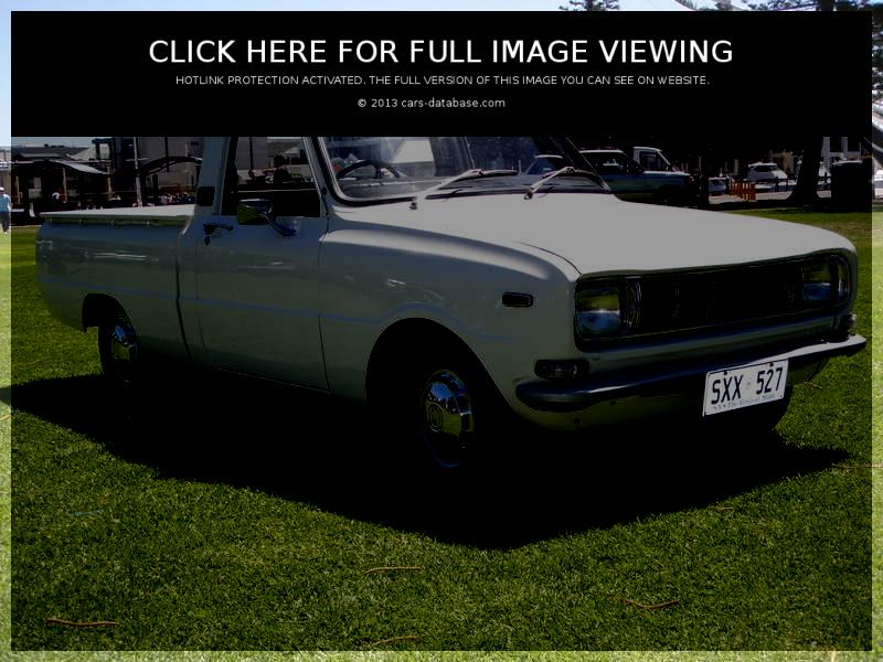 Mazda 1000: Information about model, images gallery and complete ...