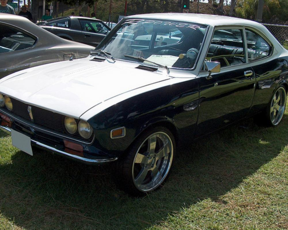 1973 Mazda RX-2 Coupe front 3q | Flickr - Photo Sharing!