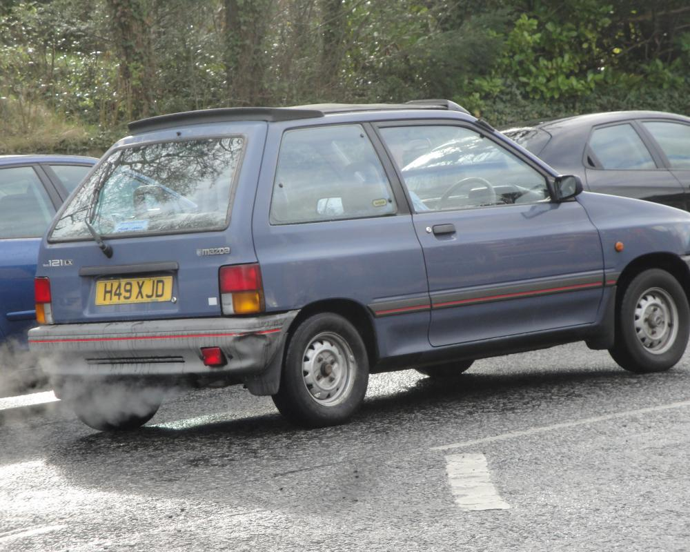 1990 Mazda 121 1.3 LX Suntop | Flickr - Photo Sharing!
