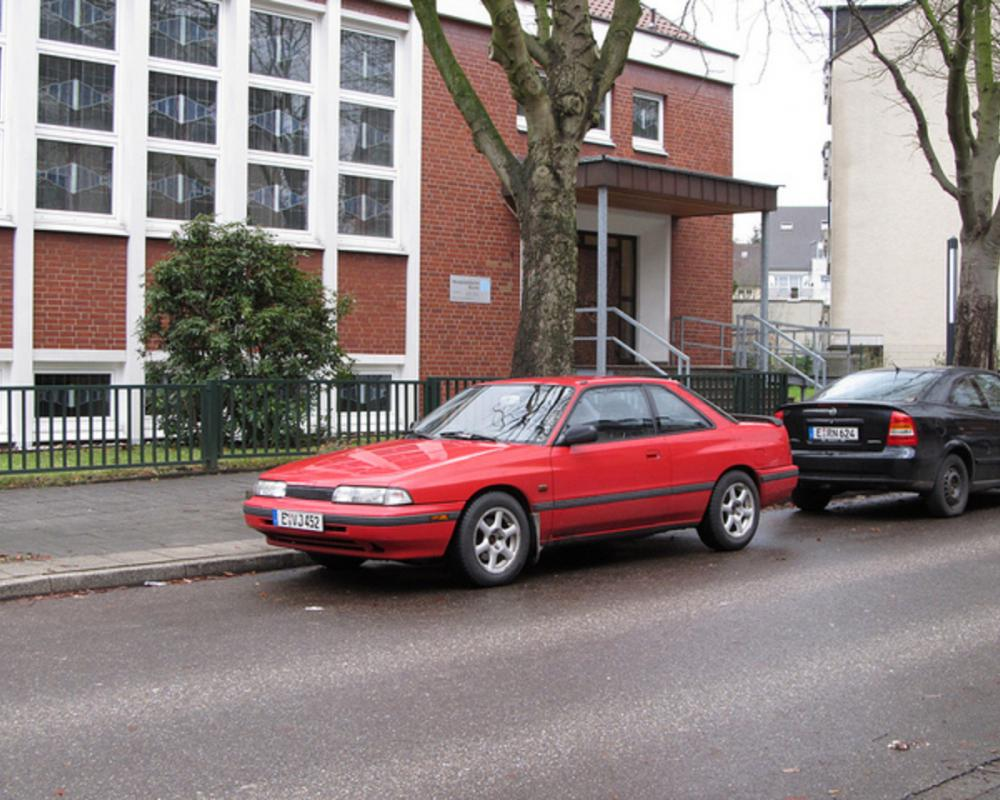 Mazda 626 Coupe | Flickr - Photo Sharing!