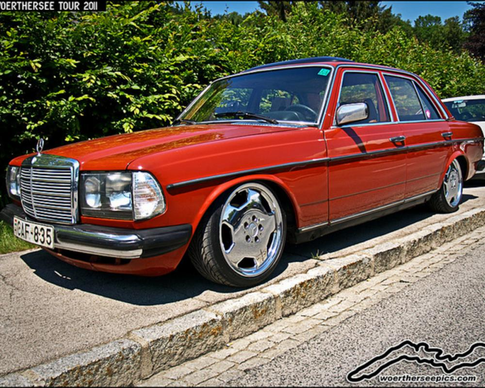 Lowered Mercedes Benz W123 | Flickr - Photo Sharing!