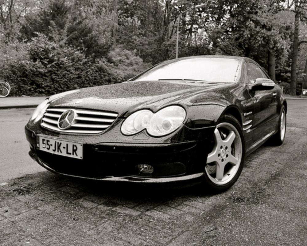 2002 Mercedes-Benz SL 55 AMG Kompressor | Flickr - Photo Sharing!