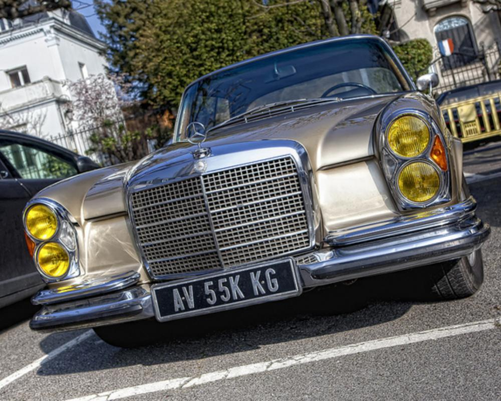 HDR Mercedes Benz 280 SE 3.5 1969 W111 | Flickr - Photo Sharing!