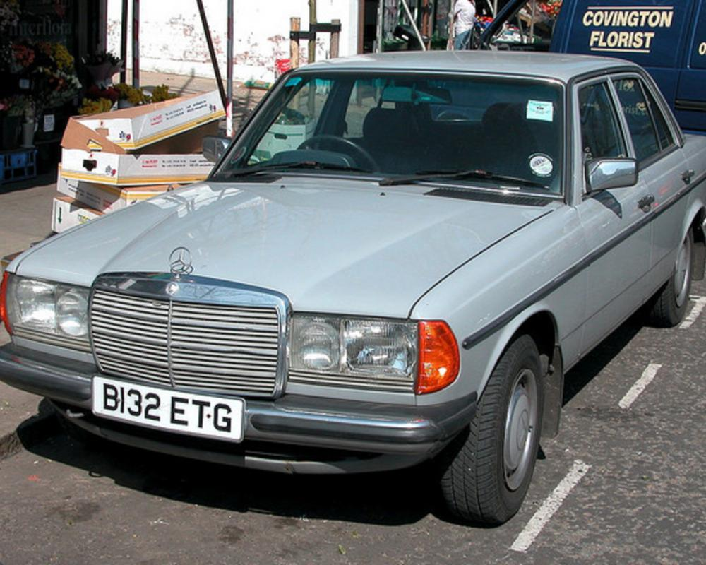 1984 Mercedes-Benz 230 E | Flickr - Photo Sharing!