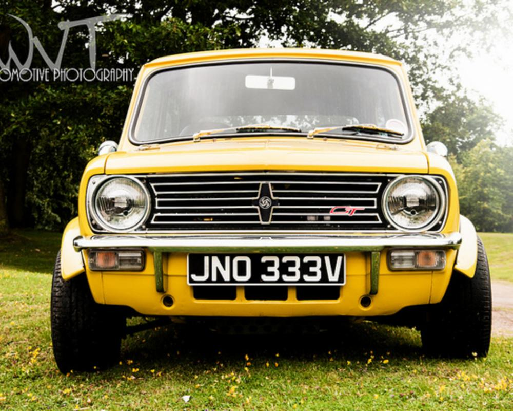 Yellow Classic Mini Clubman 1275 GT | Flickr - Photo Sharing!