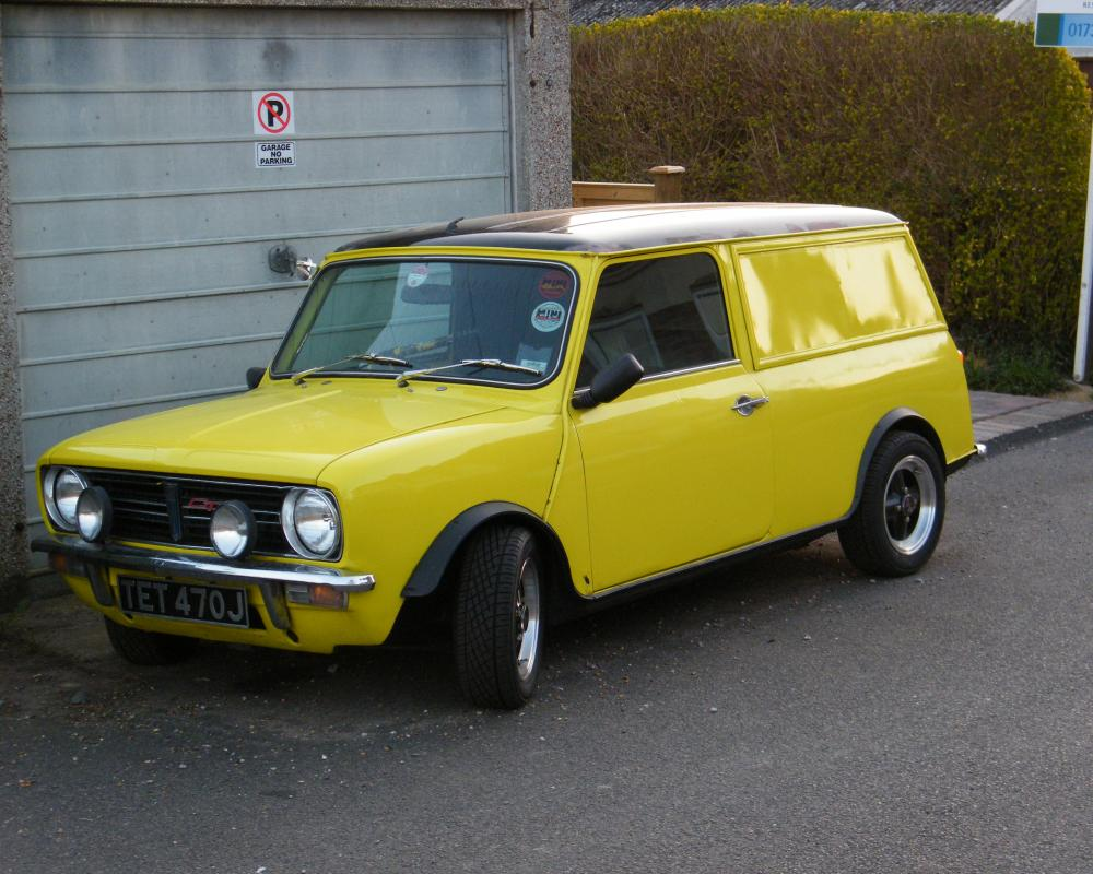 1970 Mini Clubman 'Van' | Flickr - Photo Sharing!