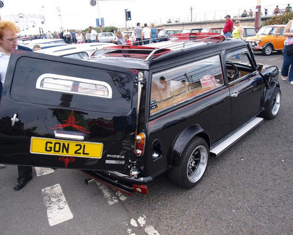 British Mini Clubman Undertaker | Flickr - Photo Sharing!