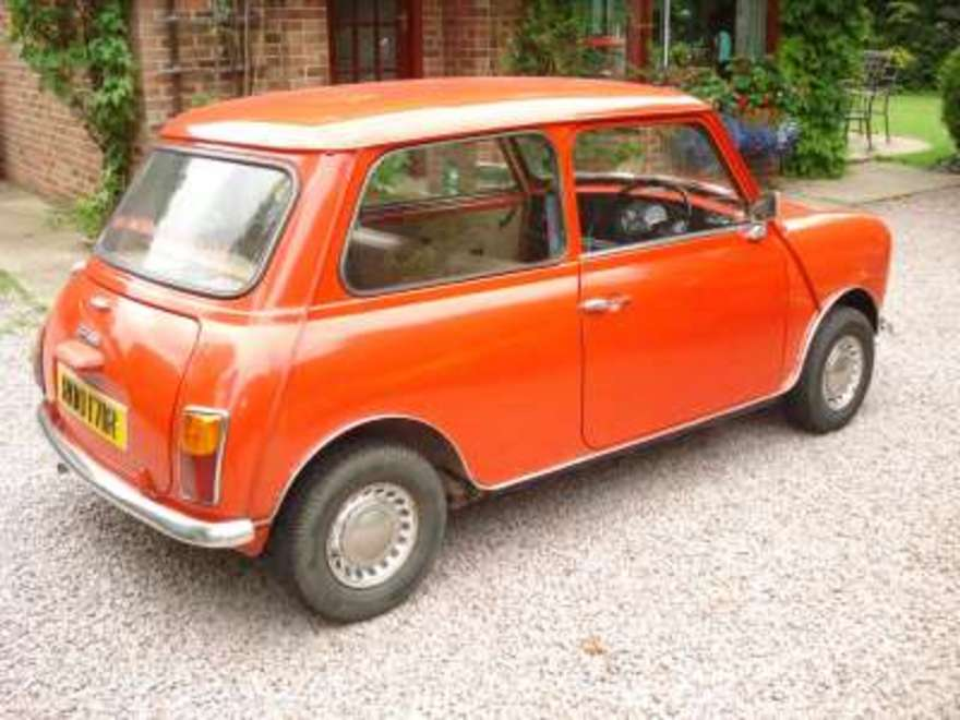 Sold or Removed: Mini 1000 (Car: advert number 147602) | Classic ...