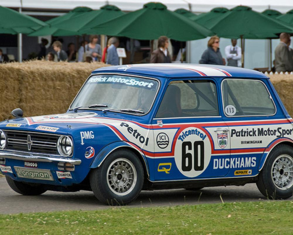 Richard Longman's Mini 1275 GT Race Car | Flickr - Photo Sharing!