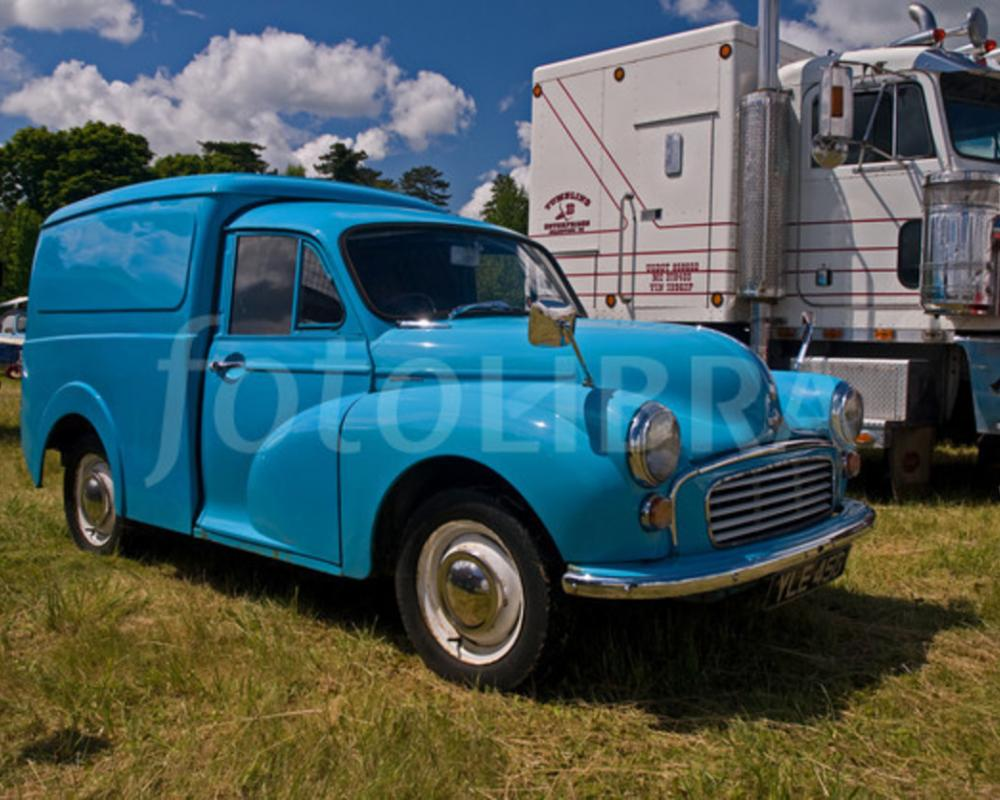 Morris Minor 1000 van. MotoBurg
