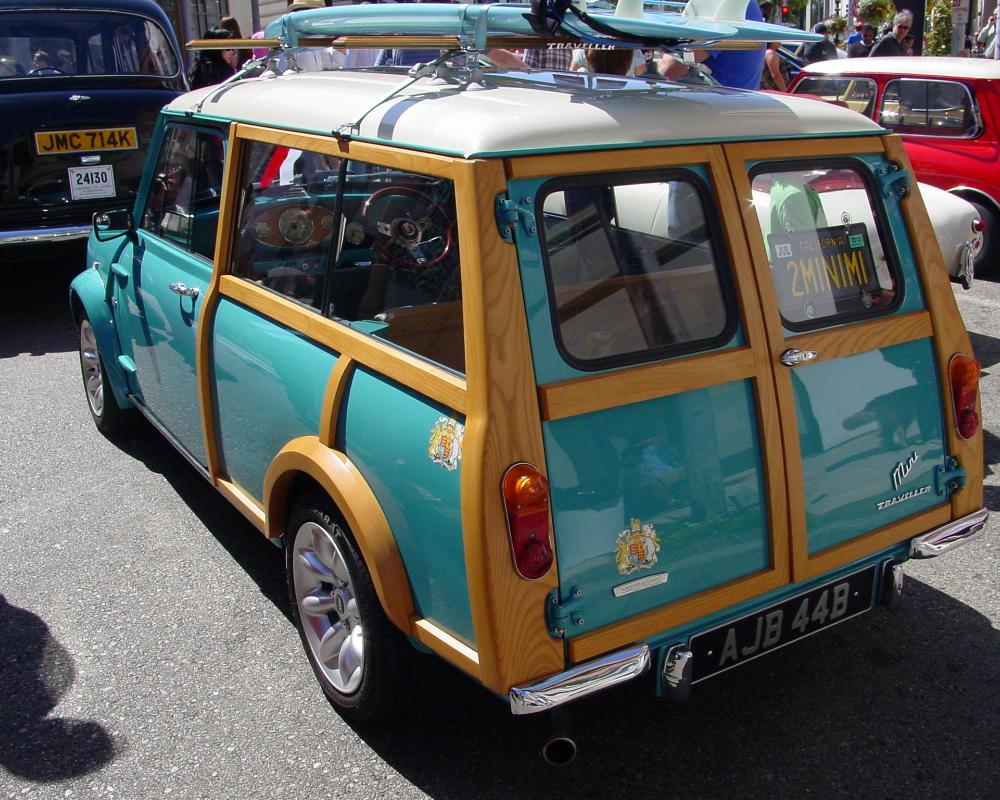 46b - c 1960's Morris Mini Traveller Woody (E) | Flickr - Photo ...
