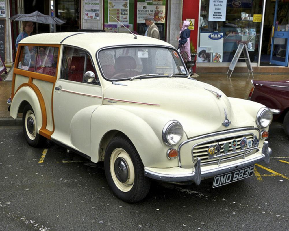 Morris Minor Traveller (OMO 683F), Cleveleys Classic Vehicle Show ...