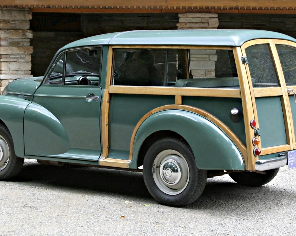 British Woody - Morris Minor 1000 | Flickr - Photo Sharing!