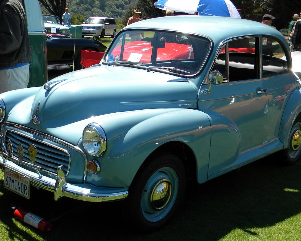 1967 Morris Minor 1000 2 door Saloon '67MINOR' 3 | Flickr - Photo ...