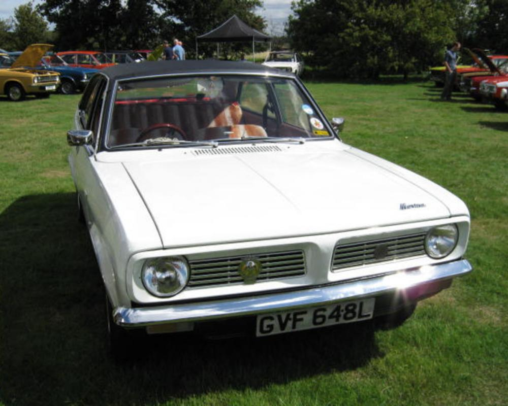 AUGUST 1972 MORRIS MARINA 1300 COUPE 1275cc GVF648L | Flickr ...