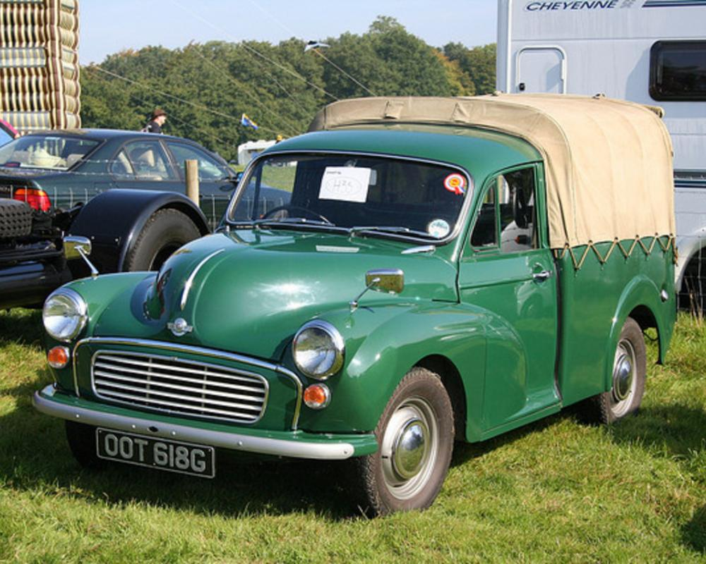 Morris Minor Pick-up OOT 618G | Flickr - Photo Sharing!
