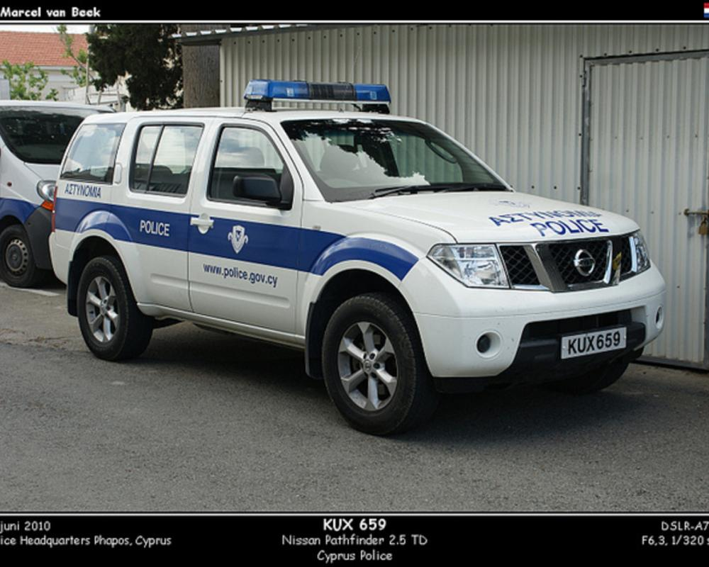 Cyprus Police - Nissan Pathfinder (KUX659) | Flickr - Photo Sharing!