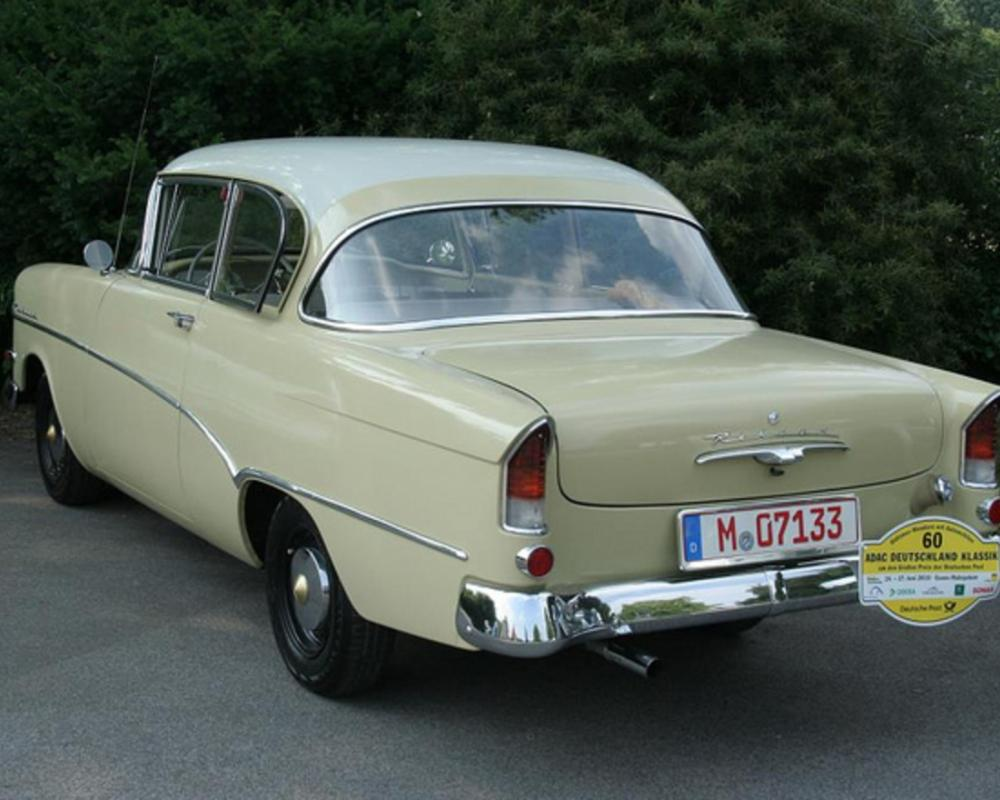 ADAC2010 - 60 - Opel Olympia Rekord P1 - 1959 - 3 | Flickr - Photo ...