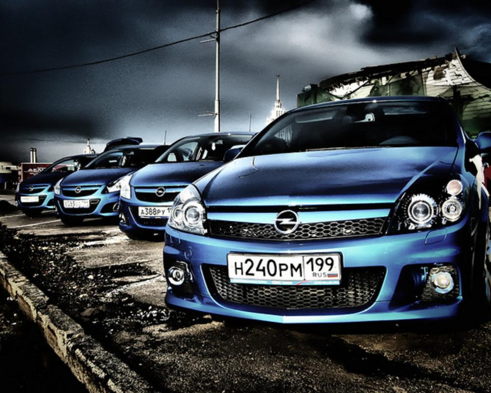 Opel Astra and Corsa OPC | Flickr - Photo Sharing!