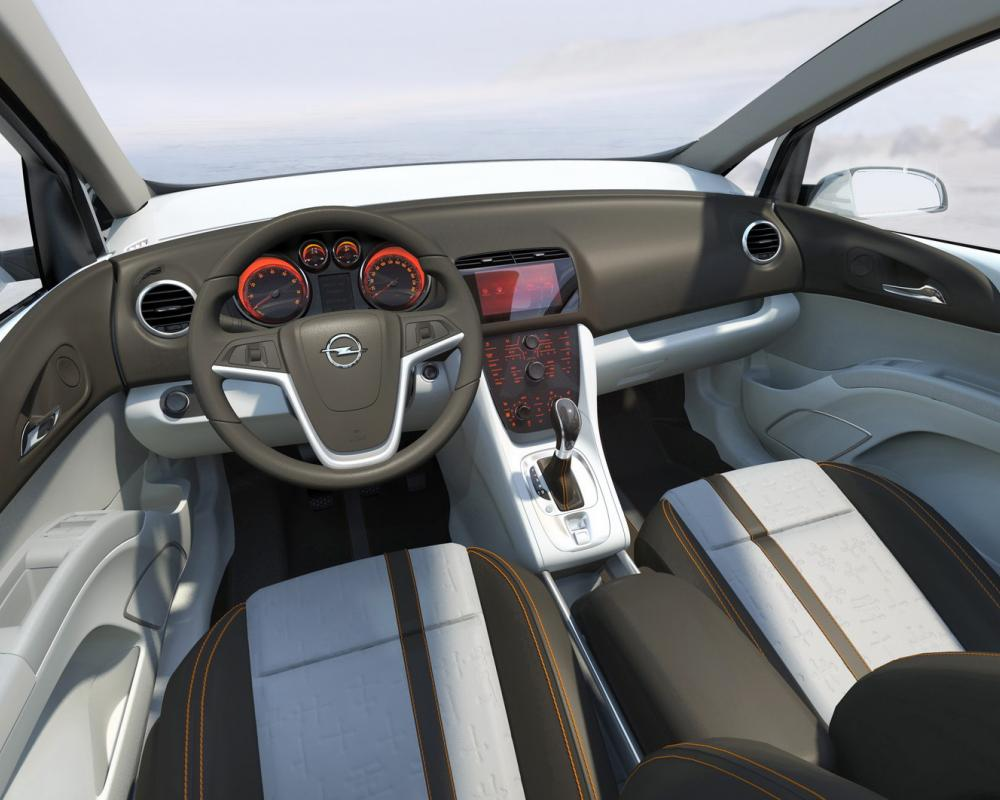 Opel Meriva Concept: Dynamic design and innovative FlexDoors System