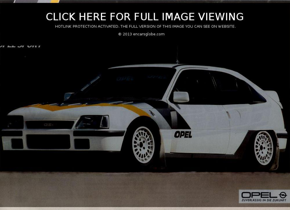 Opel Kadett Rally Photo Gallery: Photo #09 out of 12, Image Size ...