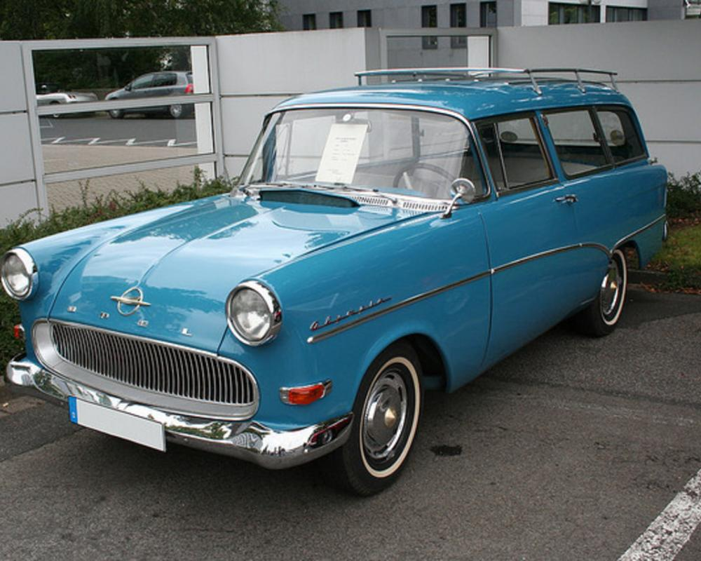 Opel Rekord Olympia Caravan (1959) | Flickr - Photo Sharing!