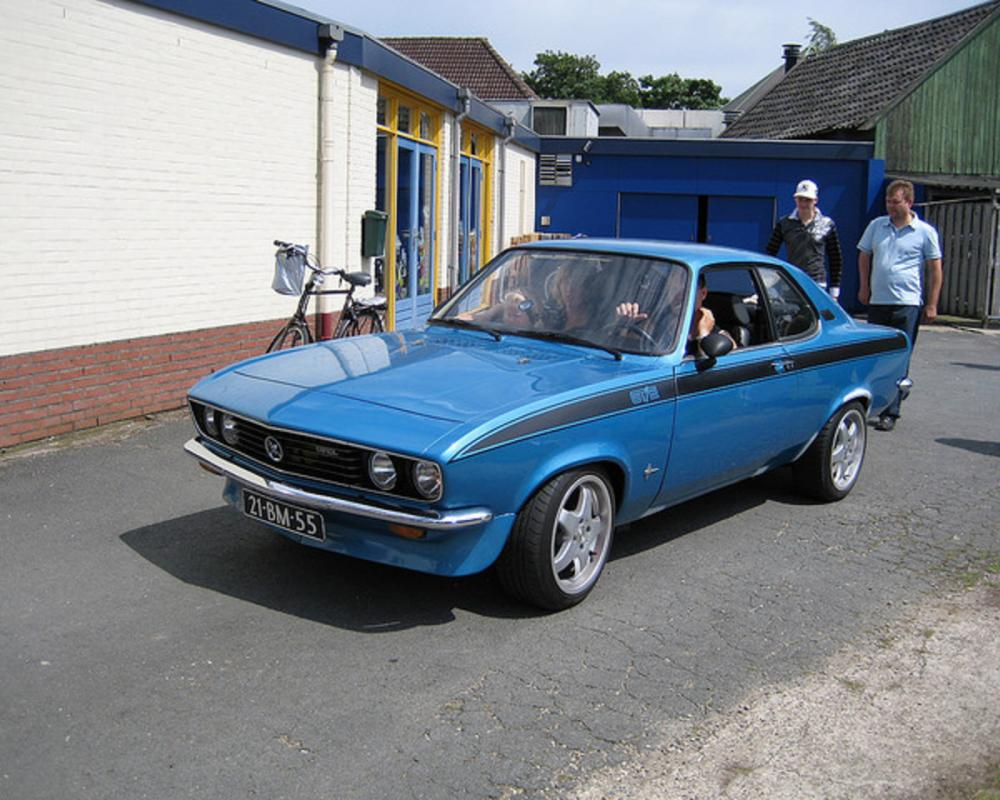 Opel Manta Automatic 1974 | Flickr - Photo Sharing!