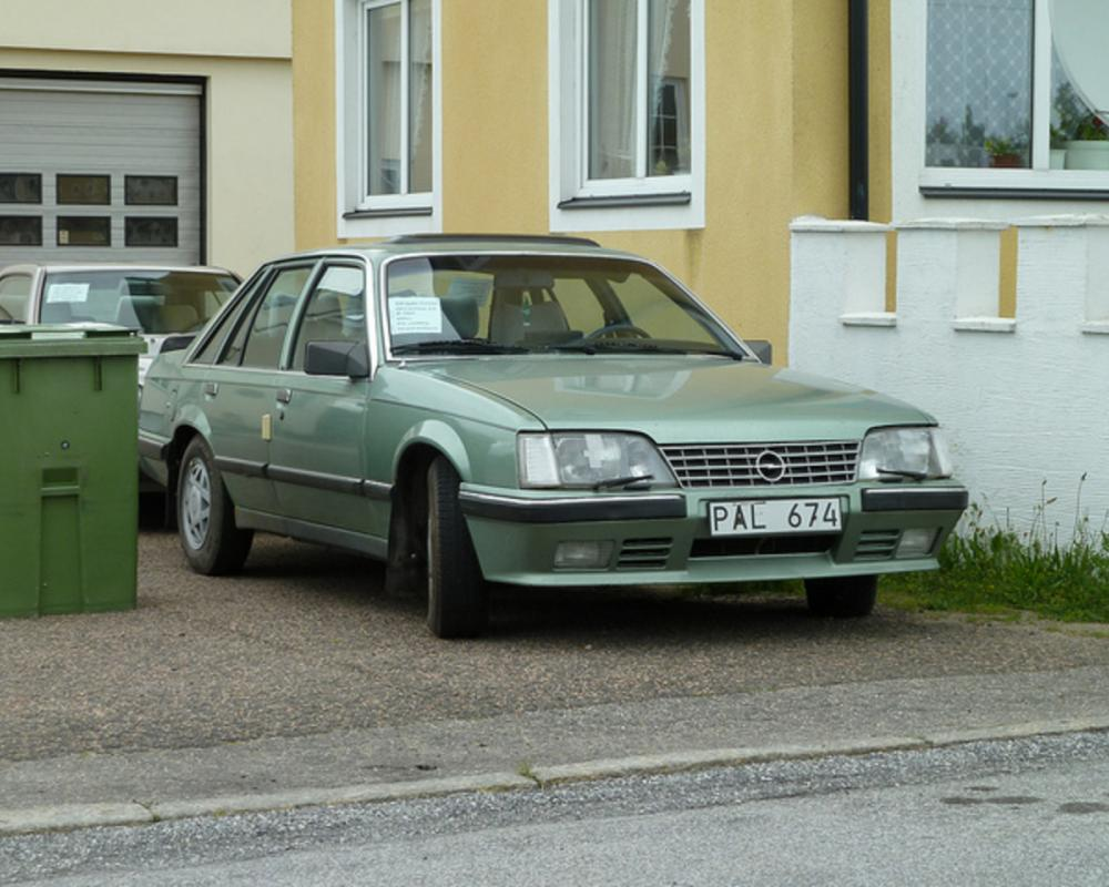 OPEL SENATOR 3.0E 1983 | Flickr - Photo Sharing!