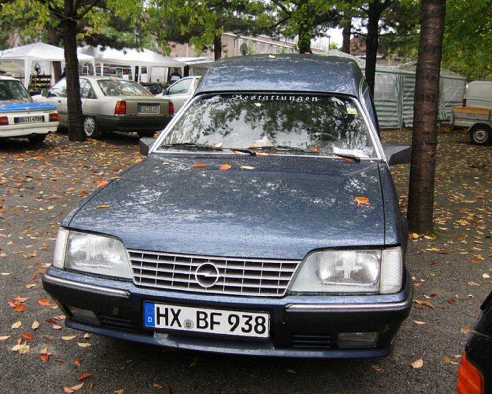 Opel Senator A Bestatter | Flickr - Photo Sharing!