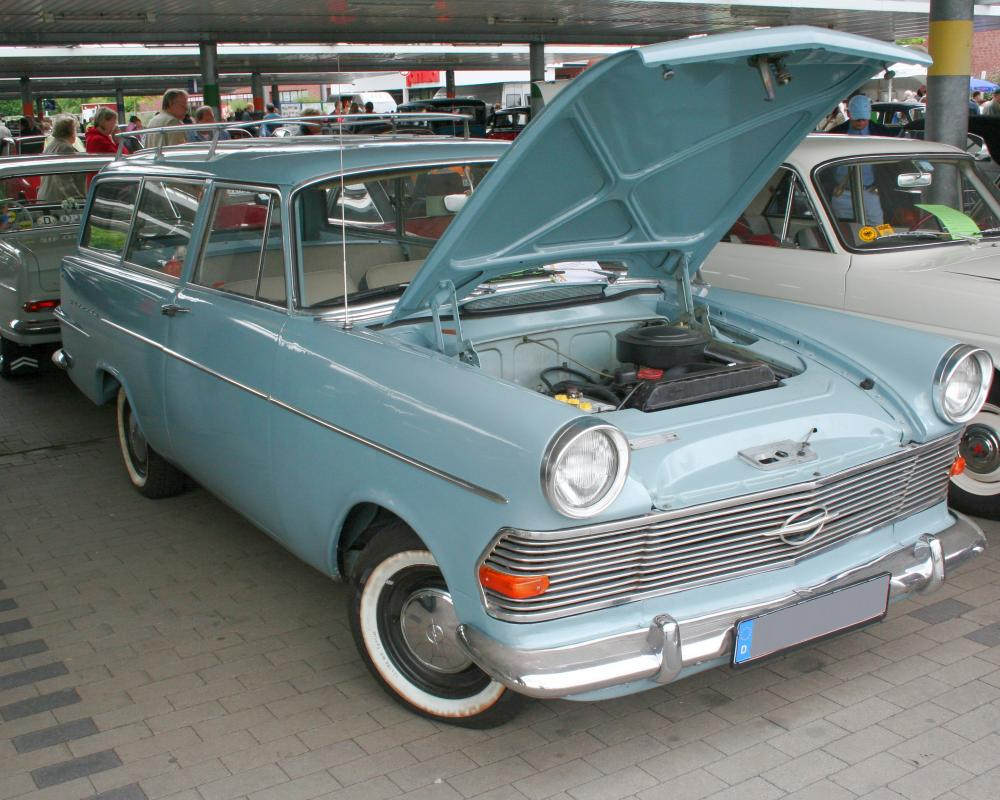 Opel Olympia Caravan 1962 | Flickr - Photo Sharing!