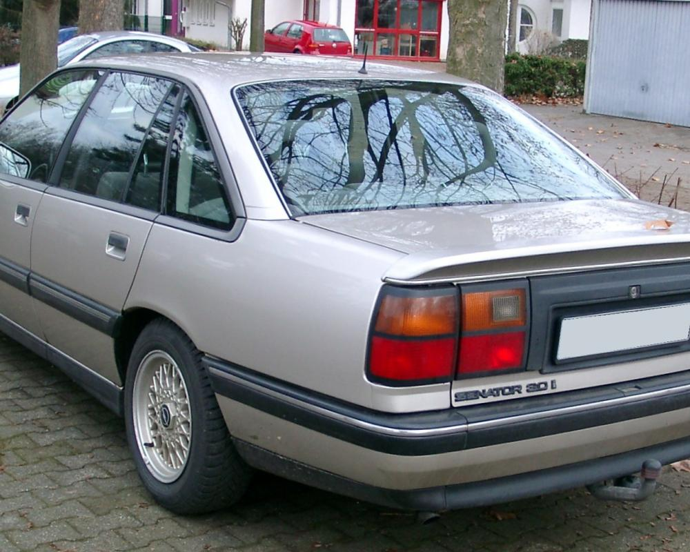 File:Opel Senator B rear 20080102.jpg - Wikimedia Commons