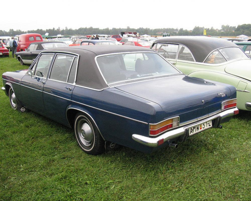 Opel Admiral 2.8 E | Flickr - Photo Sharing!