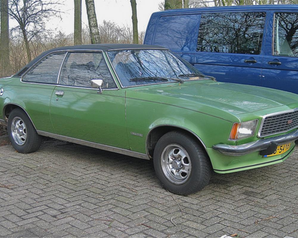 OPEL Commodore GS coupé automatic, 30-6-1972 | Flickr - Photo Sharing!