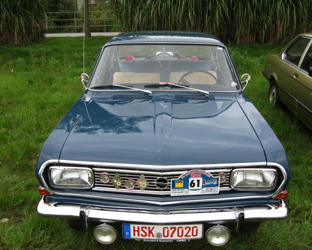 Opel Rekord B 1965-66 | Flickr - Photo Sharing!