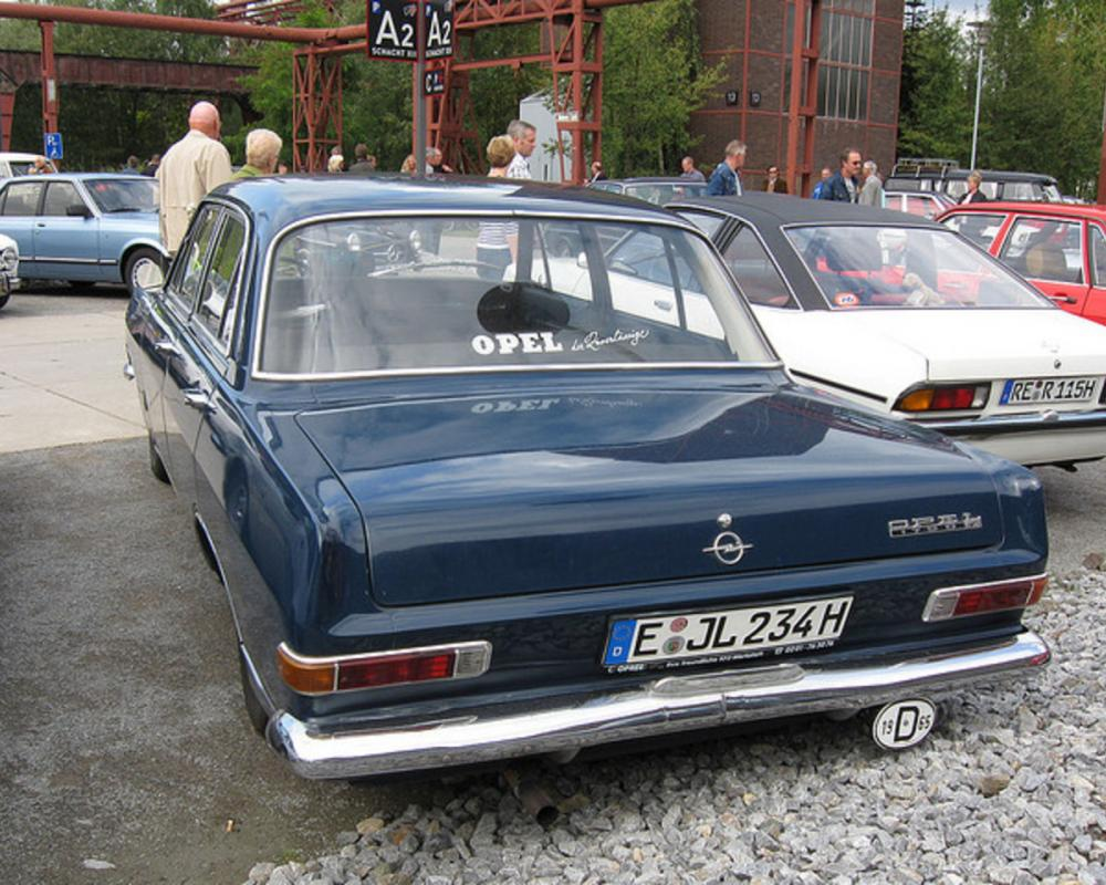 Opel Rekord 1700L 1965 | Flickr - Photo Sharing!