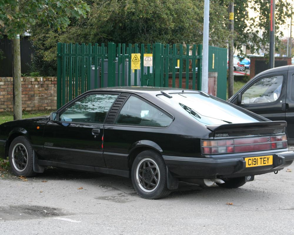 Anglesey Registered 1985 Opel Monza 3.0 GSE | Flickr - Photo Sharing!