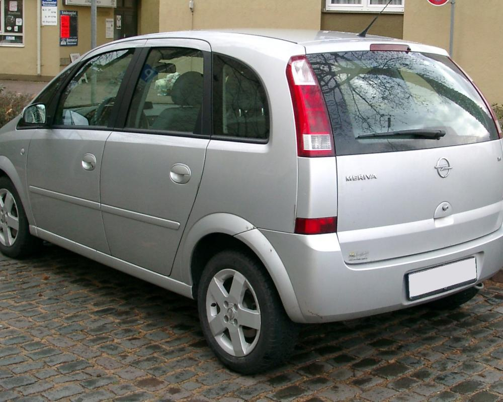 File:Opel Meriva rear 20071126.jpg - Wikimedia Commons