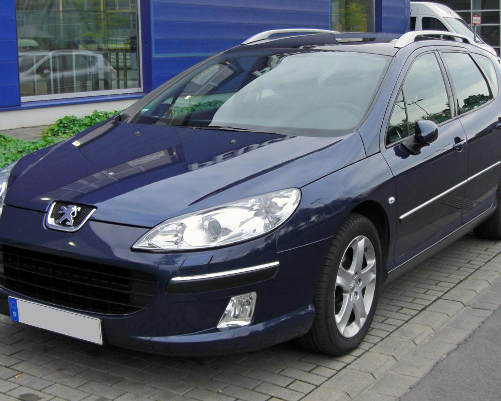File:Peugeot 407 SW 20090620 front-1.JPG - Wikimedia Commons