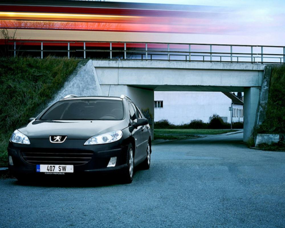 Peugeot 407 SW | Flickr - Photo Sharing!