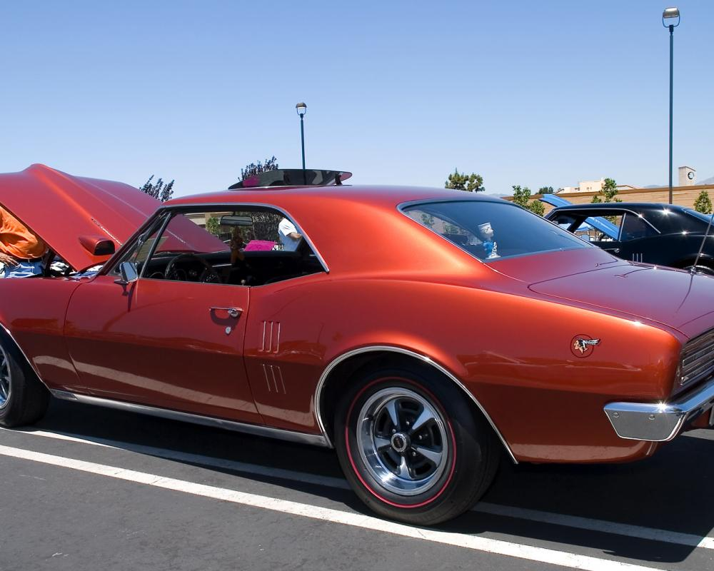 1967 Pontiac Firebird Sprint Coupe - copper color - rvl | Flickr ...