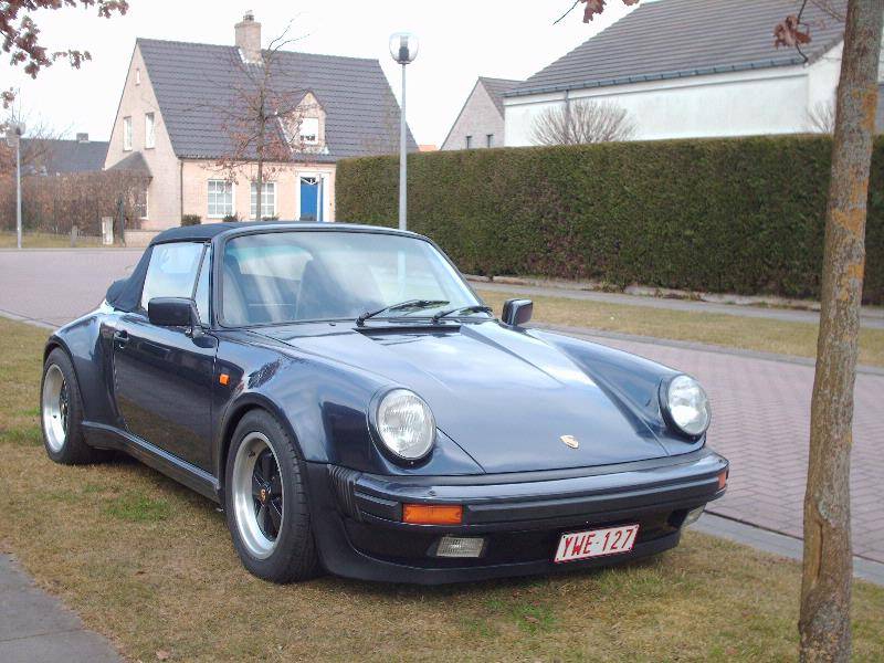 Porsche 911 Carrera Cabriolet 3.2i 1985 | Flickr - Photo Sharing!