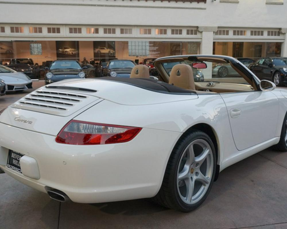 2006 Porsche 911 Carrera Cabriolet White on Beige in Beverly Hills ...