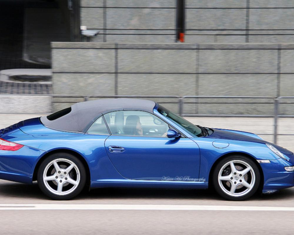 Porsche 911 Carrera Cabriolet, Central, Hong Kong | Flickr - Photo ...