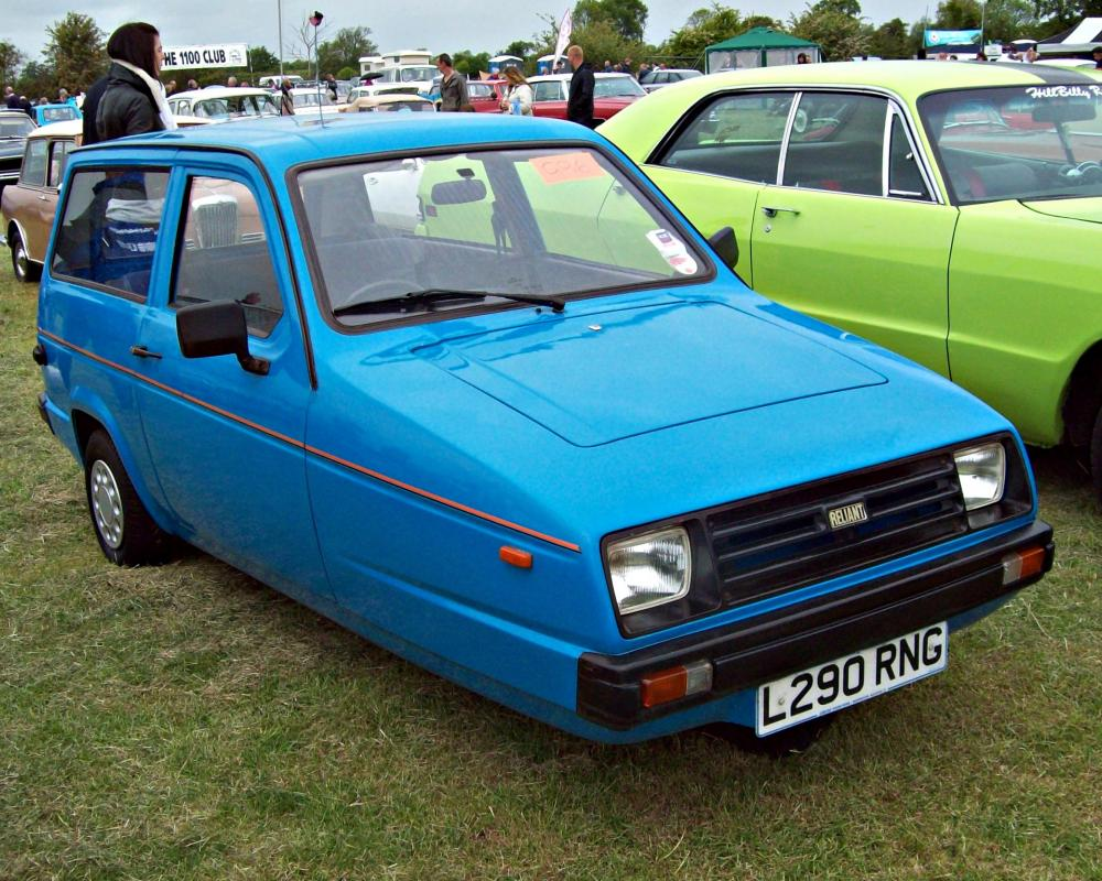 295 Reliant Rialto SE Estate (1981-98) | Flickr - Photo Sharing!