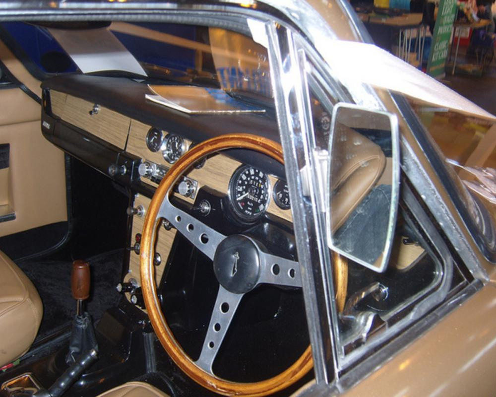 Reliant Scimitar GT interior | Flickr - Photo Sharing!