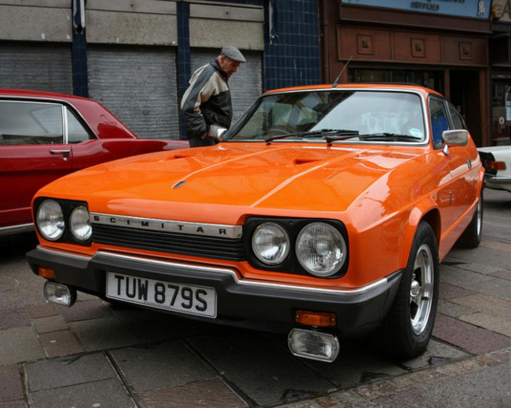 Reliant Scimitar GTE | Flickr - Photo Sharing!