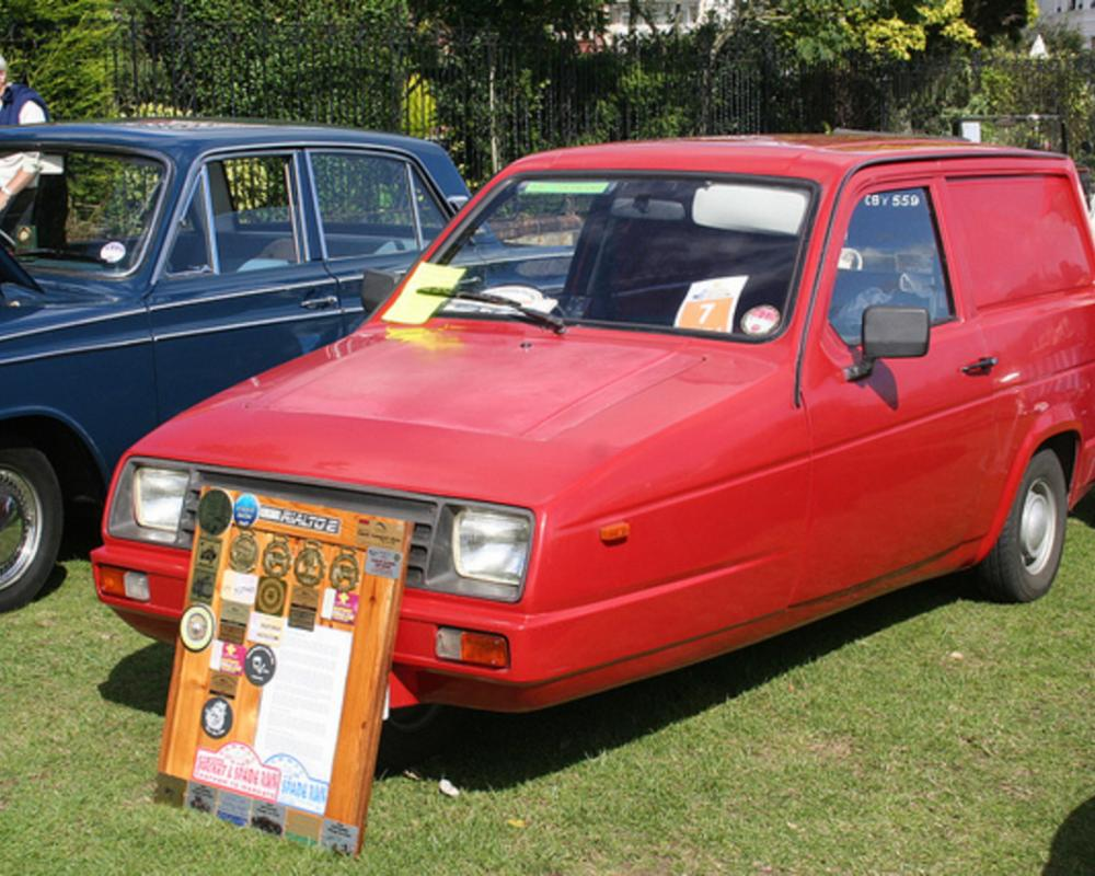 Reliant Rialto 2 van | Flickr - Photo Sharing!
